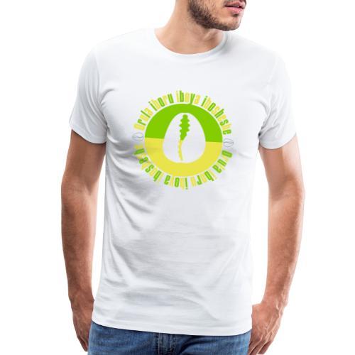 Orula Iboru Iboya Ibosheshe 2 on white - Men's Premium T-Shirt