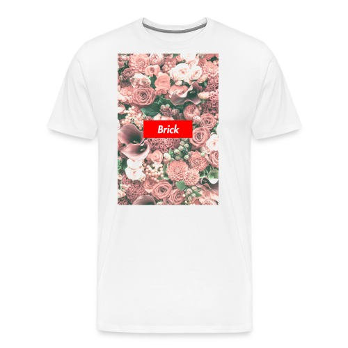 Brick Flowers - Men's Premium T-Shirt