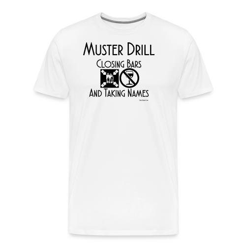 Muster Drill Shirt - Men's Premium T-Shirt