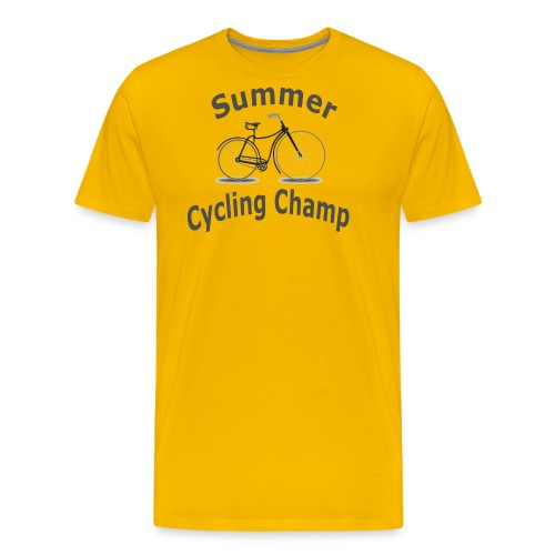 Summer Cycling Champ - Men's Premium T-Shirt