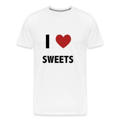 I Heart Sweets - Men's Premium T-Shirt