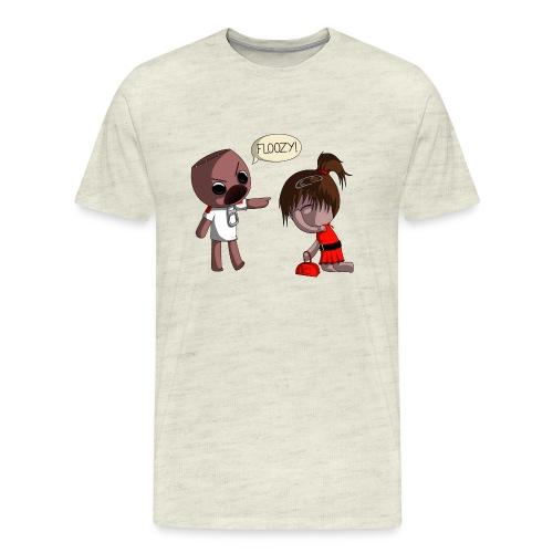 floozy1 png - Men's Premium T-Shirt