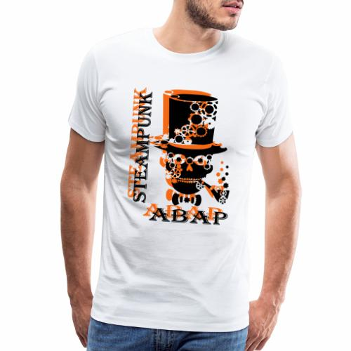 Steampunk Skull - Men's Premium T-Shirt
