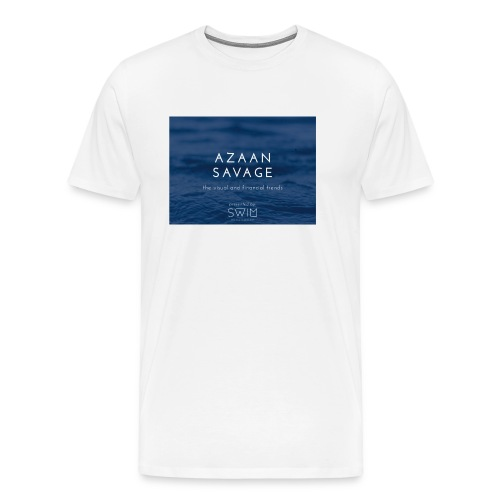 Azaansavage - Men's Premium T-Shirt