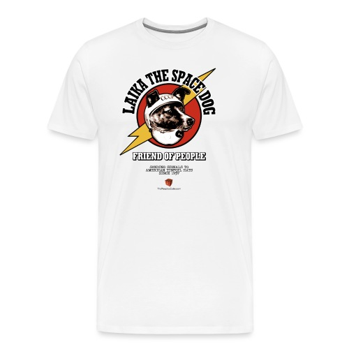 Laika the Space Dog 2019 - Men's Premium T-Shirt