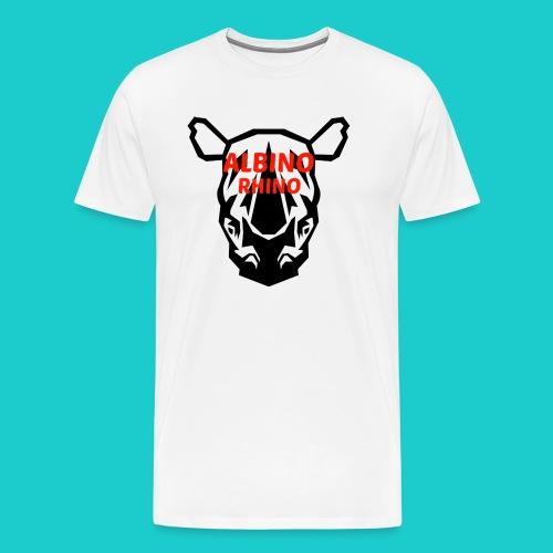 Youtube logo red - Men's Premium T-Shirt