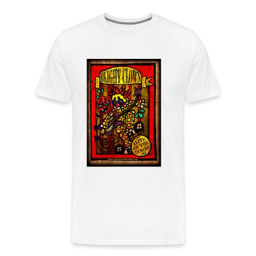Blight the Clown Sideshow Banner - Men's Premium T-Shirt
