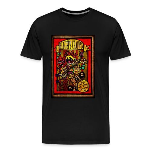 Blight the Clown Sideshow Banner - Men's Premium T-Shirt