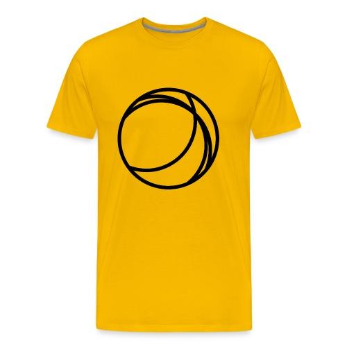 Black umbra logo - Men's Premium T-Shirt