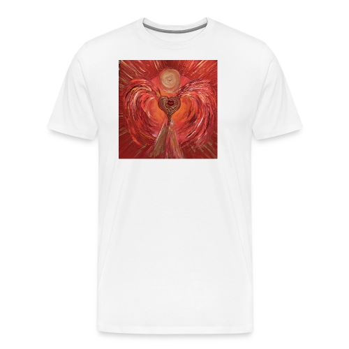 Heartangel of self-worthiness - Men's Premium T-Shirt