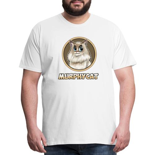 MURPHYCAT LOGO - Men's Premium T-Shirt
