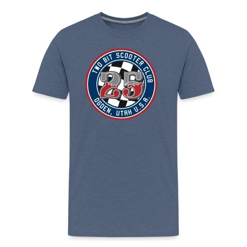 Two Bit Scooter Club Logo - Men's Premium T-Shirt