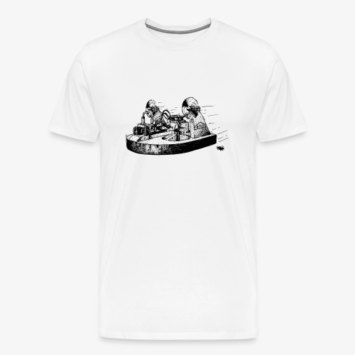 TINY WHOOV - DRAWING - Men's Premium T-Shirt