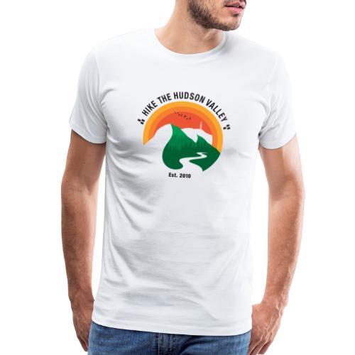 Hike The Hudson Valley (White/light bkgrnd) - Men's Premium T-Shirt