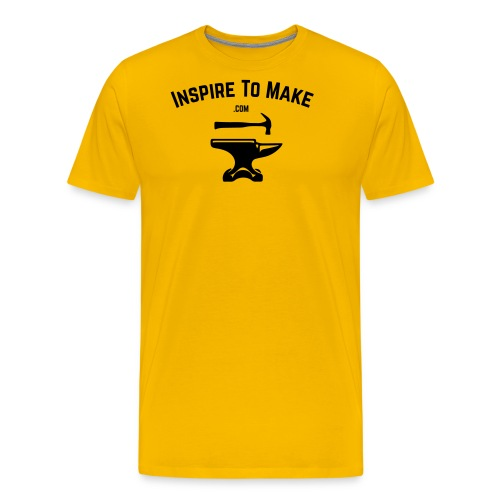 Inspire To Make Logo - Men's Premium T-Shirt
