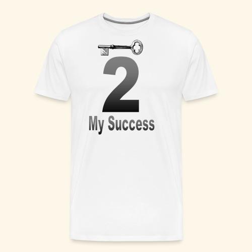 The key to my success - Men's Premium T-Shirt