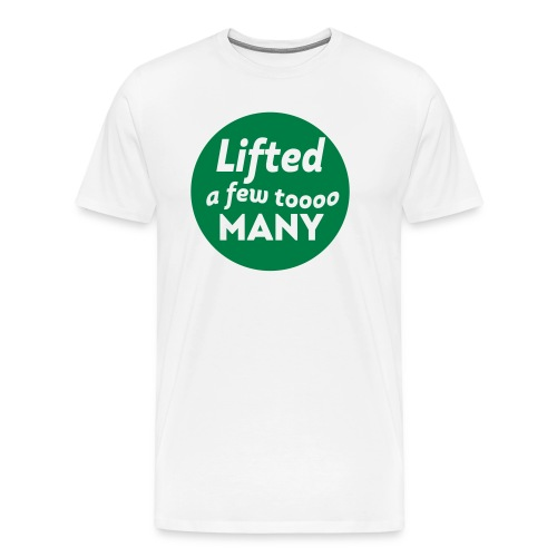 lifted - Men's Premium T-Shirt