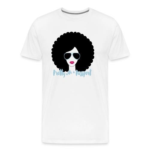 Afro fabulous travel t shirt - Men's Premium T-Shirt