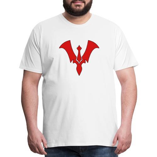 Suit New Logo Red - Men's Premium T-Shirt