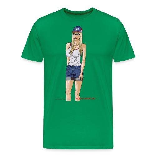 Gina Character Design - Men's Premium T-Shirt