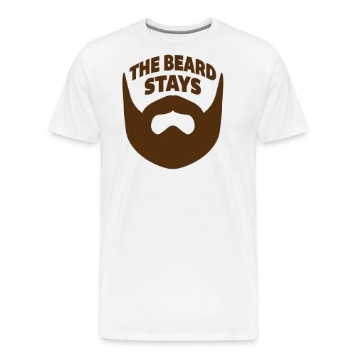 thebeardstays - Men's Premium T-Shirt