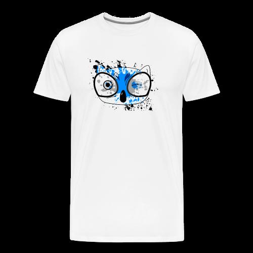 Splatter Owl - Men's Premium T-Shirt