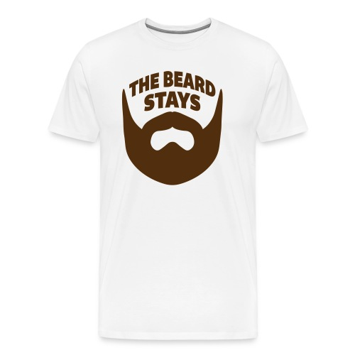 thebeardstays - Men's Premium T-Shirt