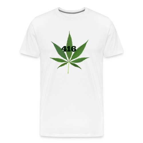Toronto marijuana - Men's Premium T-Shirt