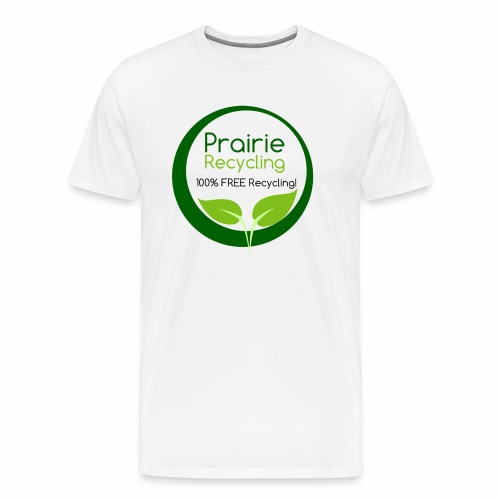 Prairie Recycling Official Logo - Men's Premium T-Shirt