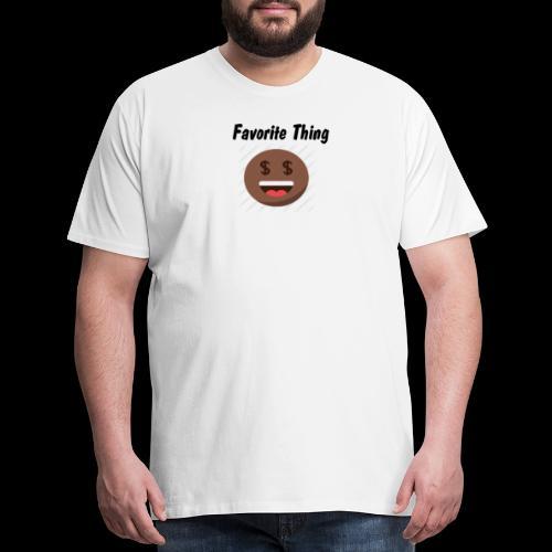 Favorite thing Black - Men's Premium T-Shirt