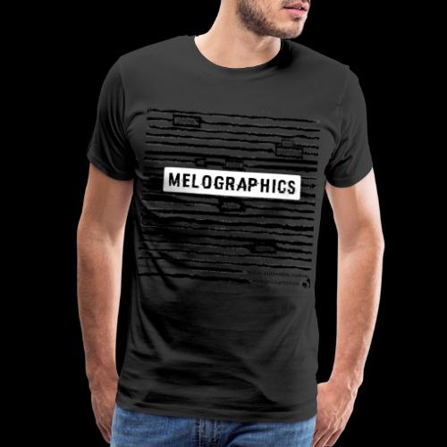 MELOGRAPHICS | Blackout Poem - Men's Premium T-Shirt
