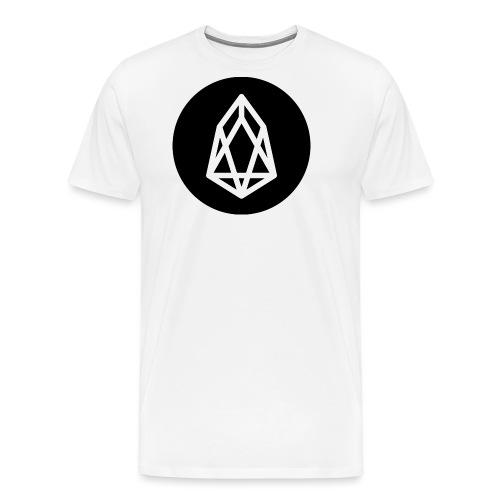 EOS Logo Black Background - Men's Premium T-Shirt