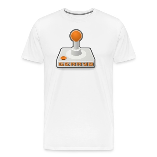 GerryB Logo - Men's Premium T-Shirt