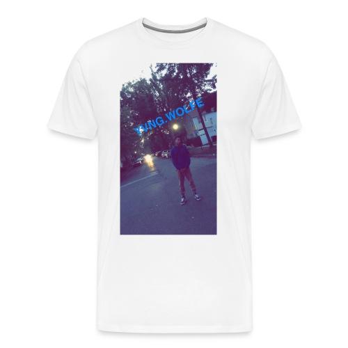 Yvng.wolfe Street Pic - Men's Premium T-Shirt