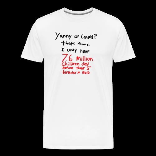 Yanny or Laurel - Men's Premium T-Shirt
