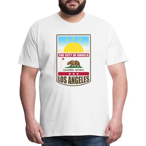 Los Angeles - California Republic - Men's Premium T-Shirt