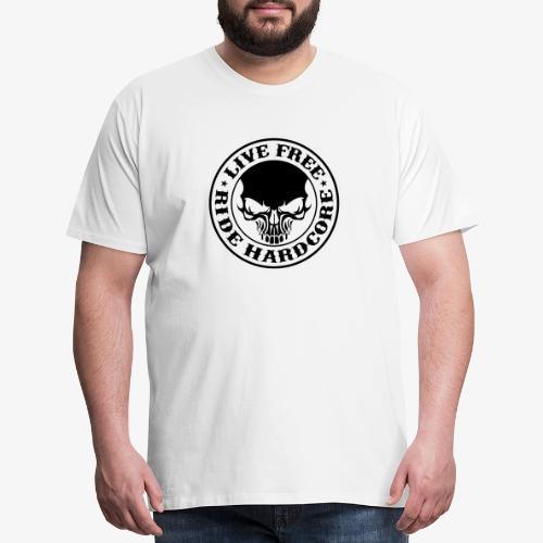 Live Free Ride Hardcore - Men's Premium T-Shirt