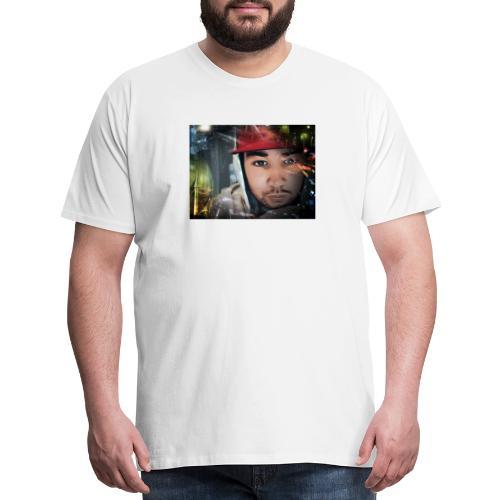 New face design - Men's Premium T-Shirt