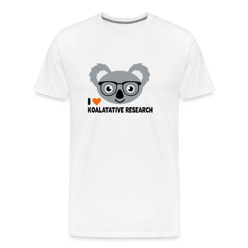 Koalatative Research - Men's Premium T-Shirt