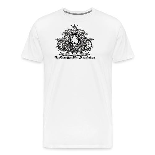 ALA Logo Black White - Men's Premium T-Shirt