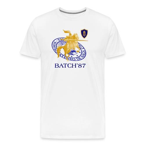 Ateneo Batch 87 - Men's Premium T-Shirt
