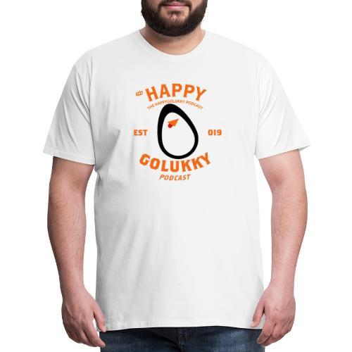 HappyGoLukky Vintage Orange - Men's Premium T-Shirt