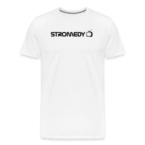 White Stromedy T-Shirt - Men's Premium T-Shirt