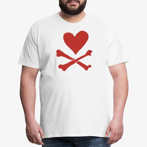 Dangerous Heart - Men's Premium T-Shirt