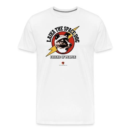 Laika 2019 - no tinhats - Men's Premium T-Shirt