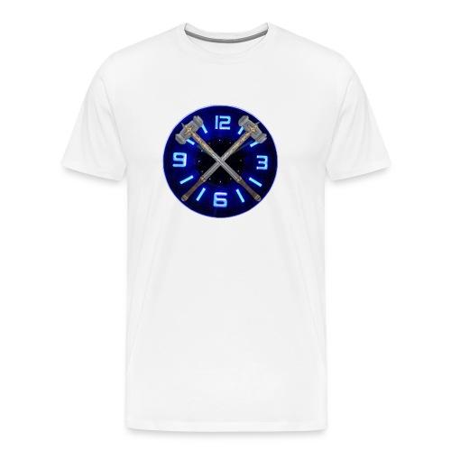 Hammer Time T-Shirt- Steel Blue - Men's Premium T-Shirt
