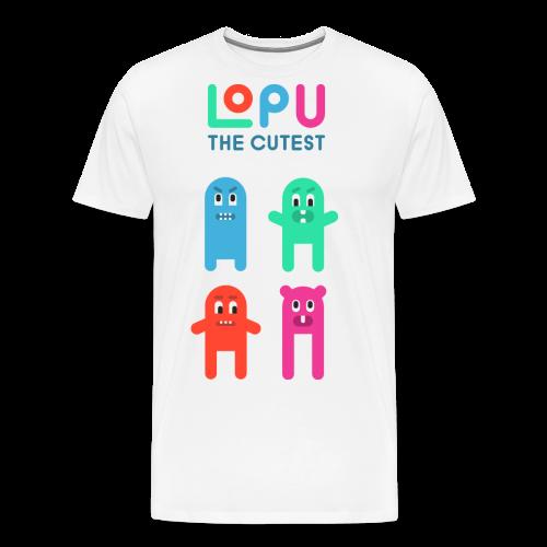 Lopu - The Cutest - Men's Premium T-Shirt
