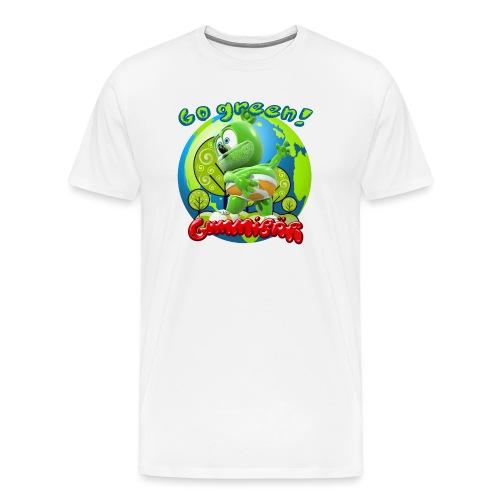 Gummibär Go Green Earth Day Earth - Men's Premium T-Shirt
