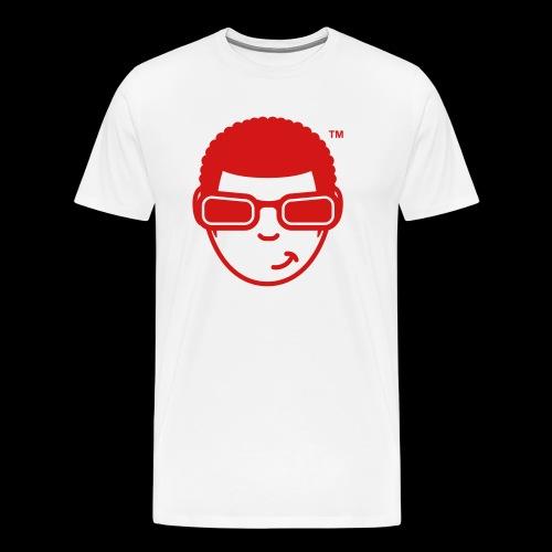 WearFizzle Mascot Red - Men's Premium T-Shirt