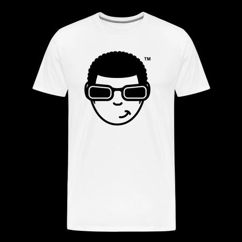 WearFizzle Mascot Black - Men's Premium T-Shirt